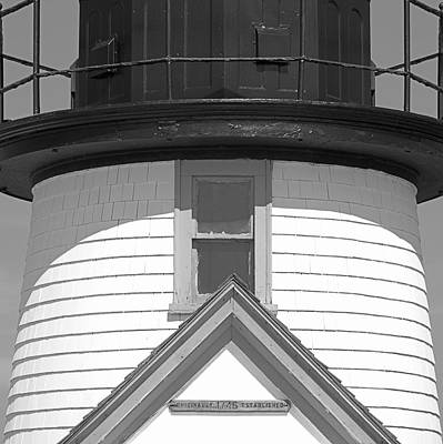 Brant Point Lighthouse Nantucket Poster by Charles Harden