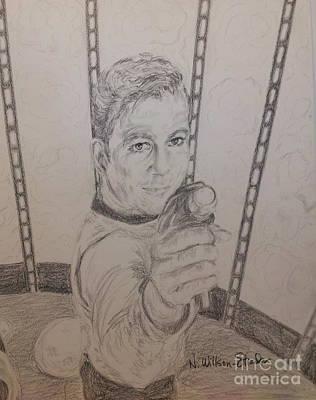 Brave Kirk Poster by N Willson-Strader