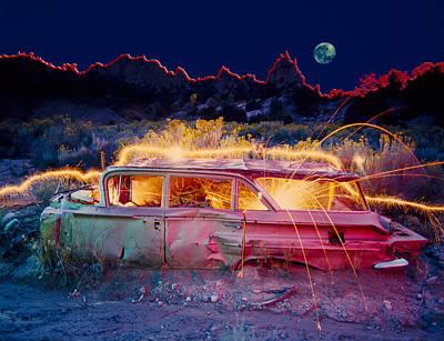 Break Down Poster by Garry Gay