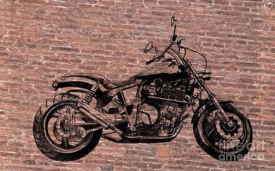 Brick Splitter Poster by Stephen Brooks