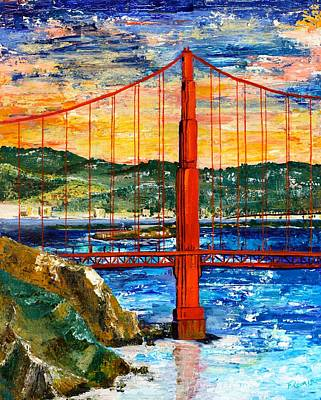 Bridge Poster by Fleur Spolidor
