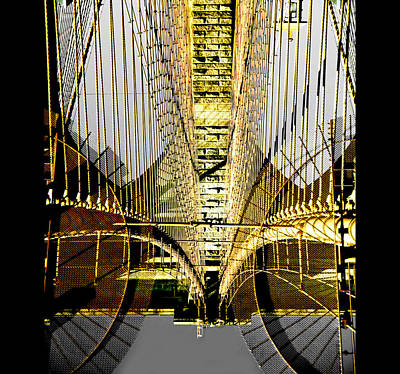 Bridging Borders Poster by Dale Witherow
