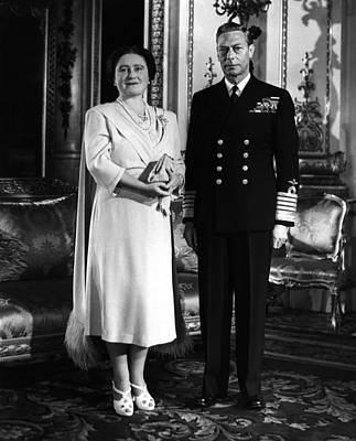 British Royalty. British Queen Poster by Everett