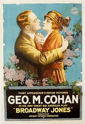 Broadway Jones, George M. Cohan Poster by Everett