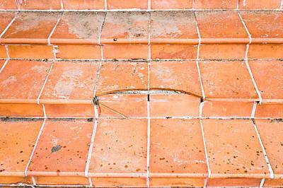 Broken Steps Poster by Tom Gowanlock