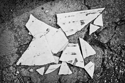 Broken Tile Poster by Tom Gowanlock
