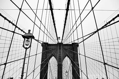 Brooklyn Bridge Poster by Thank you for choosing my work.
