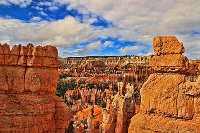Bryce Canyon 38 - Sunrise Point Poster by Allen Beatty