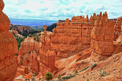 Bryce Canyon 42 - Sunrise Point Poster by Allen Beatty