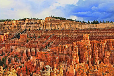 Bryce Canyon 43 - Sunset Point Poster by Allen Beatty