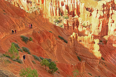 Bryce Canyon 44 - Sunset Point Poster by Allen Beatty