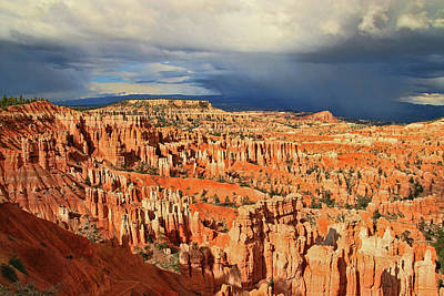 Bryce Canyon 47 - Sunset Point Poster by Allen Beatty