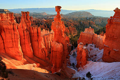 Bryce Canyon's Thor's Hammer Poster by Pierre Leclerc Photography