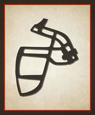 Buccaneers Face Mask Poster by Joe Hamilton