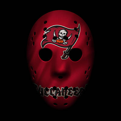 Buccaneers War Mask 3 Poster by Joe Hamilton