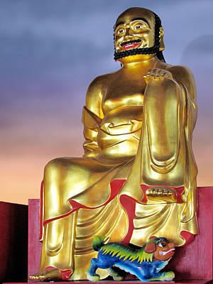 Buddha Poster by Christine Till