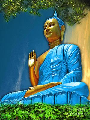 Buddha Daylight Poster by Khalil Houri
