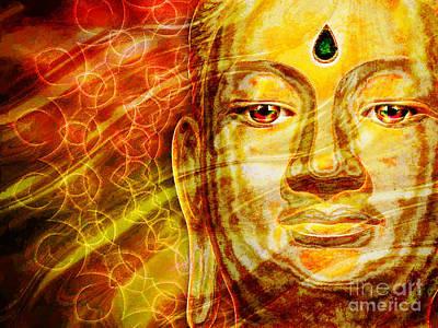 Buddha Mandala Poster by Khalil Houri