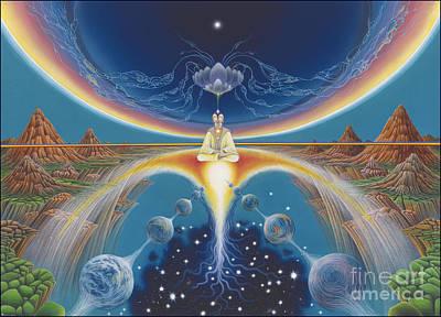 Budhistic Dreams Poster by Leonard Rubins