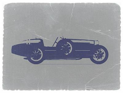 Bugatti Type 35 Poster by Naxart Studio