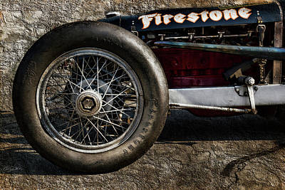 Buick Shafer 8 Poster by Peter Chilelli