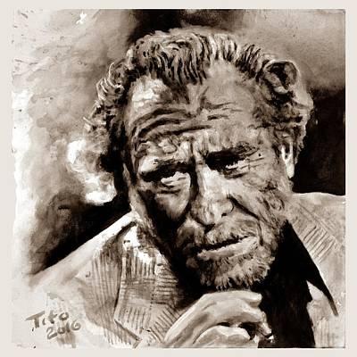 Bukowski  Poster by Richard Tito