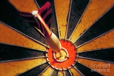 Bulls Eye Poster by John Greim