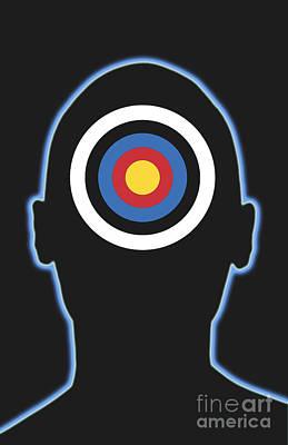 Bullseye Poster by George Mattei