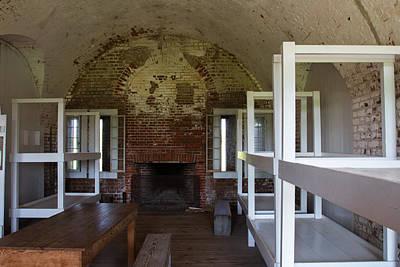 Bunk At Fort Pulaski Poster by Gestalt Imagery