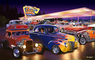 Burger Bobs Poster by Bruce Kaiser