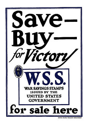 Buy For Victory Poster by War Is Hell Store