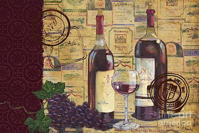 Cabernet Valley Poster by Paul Brent