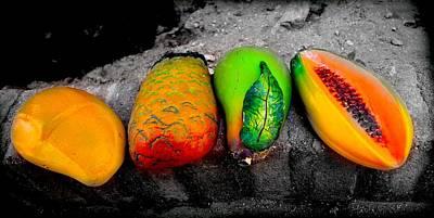 Cabo Fruit Art Poster by Craig Incardone