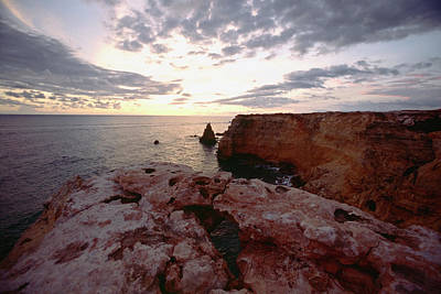 Cabo Rojo Sunset Poster by George Oze