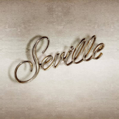 Cadillac Seville Emblem Poster by YoPedro
