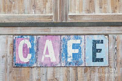 Cafe Poster by Elena Elisseeva