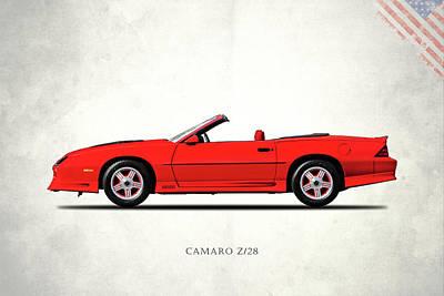 Camaro Z 28 1992 Poster by Mark Rogan