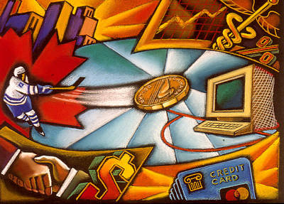 Canadian Economy  Poster by Leon Zernitsky