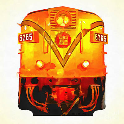 Canadian National Railways Poster by Edward Fielding