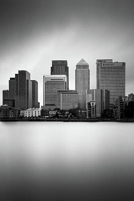 Canary Wharf II, London Poster by Ivo Kerssemakers