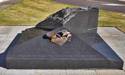 Canberra Veterans Statue Poster by Steven Ralser