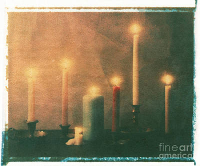 Candles Poster by Jim Wright