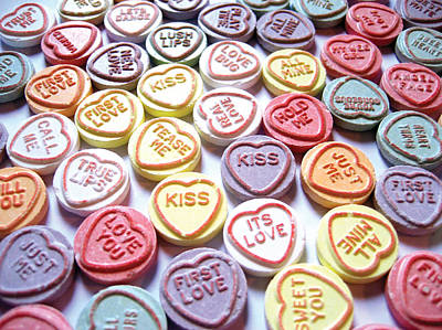 Candy Love Photography Poster by Michael Tompsett