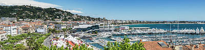 Cannes Croisette - Panoramic Poster by Melanie Viola