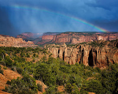 Canyon - Rainbow - Arizona Poster by Nikolyn McDonald