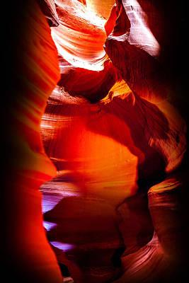Canyon Shute Poster by Az Jackson