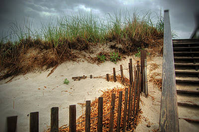 Cape Cod Beach Poster by Kelly Wade