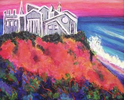 Cape Cod Castle Poster by Suzanne  Marie Leclair