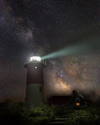 Cape Cod Celestial Outpost Poster by Bill Wakeley