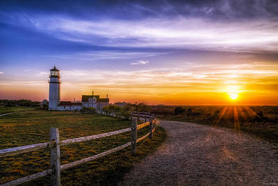 Cape Cod Light Poster by Mark Papke